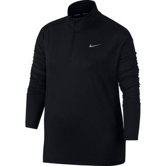 Nike Plus Size Funktionsshirt Damen black
