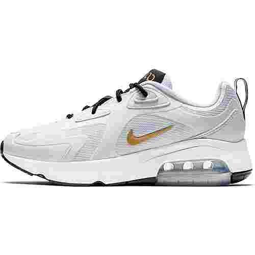 Nike Air Max 200 Sneaker Damen white-metallic gold-black