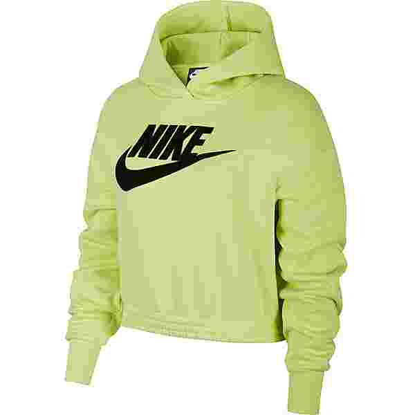 Nike NSW Icon Clash Hoodie Damen limelight