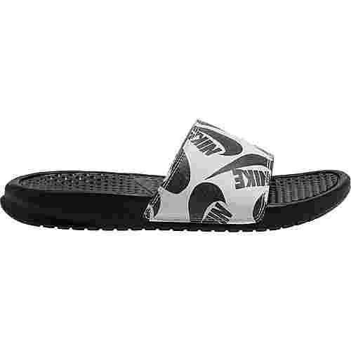 Nike Benassi JDI Badelatschen Damen black-black-white