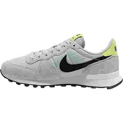 Nike Internationalist Sneaker Damen grey fog-black-lemon venom-summit white