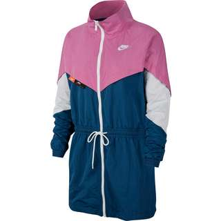 Nike NSW Icon Clash Nylonjacke Damen cosmic fuchsia