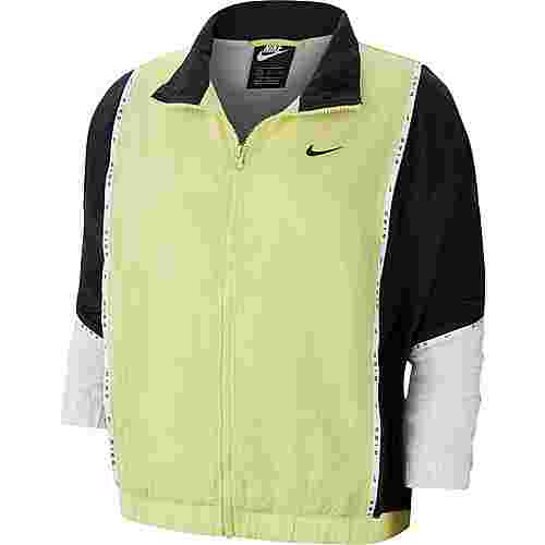 Nike NSW Nylonjacke Damen limelight-black-black