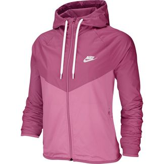 Nike NSW Windrunner Kapuzenjacke Damen cosmic fuchsia-magic flamingo-white