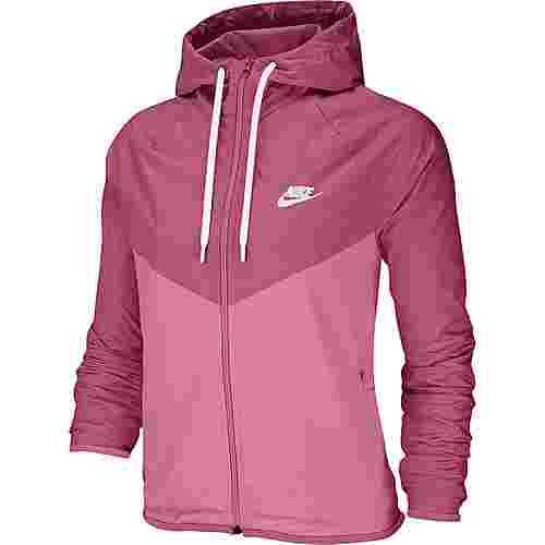 Nike NSW Windrunner Nylonjacke Damen cosmic fuchsia-magic flamingo-white