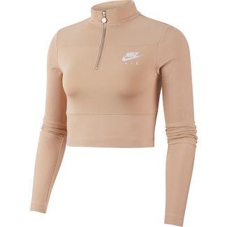 Nike NSW Croptop Damen shimmer-ice silver