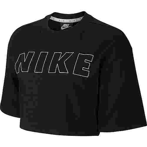 Nike NSW Air Croptop Damen black