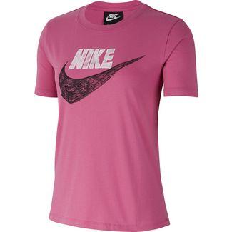 Nike NSW Icon Clash T-Shirt Damen cosmic fuchsia