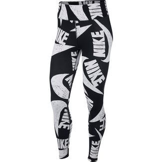 Nike NSW Icon Clash Leggings Damen black-white