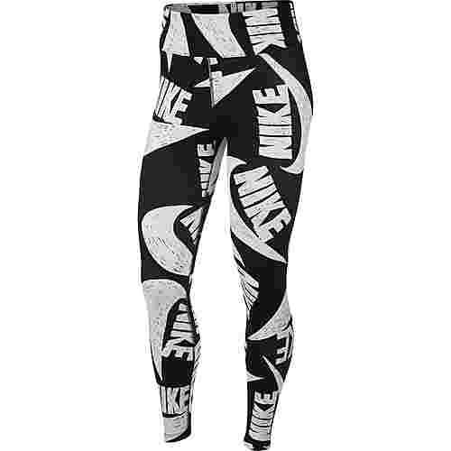 Nike NSW Icon Clash Leggings Damen black-white