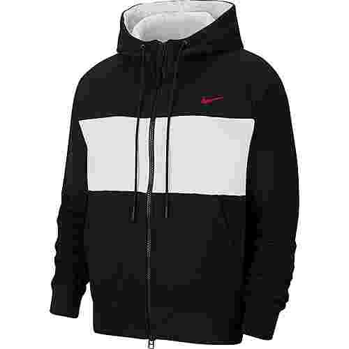 Nike NSW Air Sweatjacke Herren black-white-university red