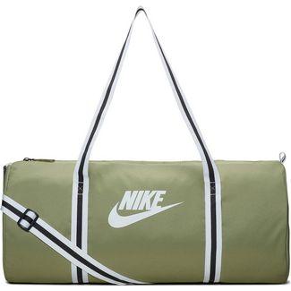 Nike Heritage Duff Sporttasche dusty olive-white