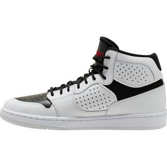 Nike Jordan Access Basketballschuhe Herren white-gym red-black