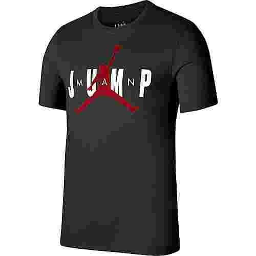 Nike Jump Crew T-Shirt Herren black-gym red