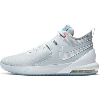 Nike Air Max Impact Basketballschuhe Herren pure platinum-white-blue fury