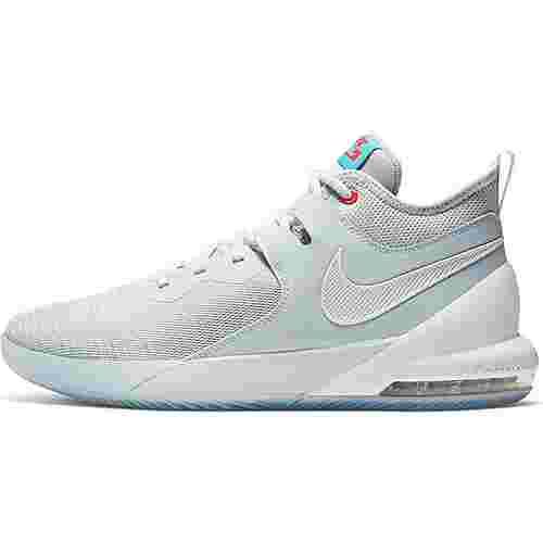Nike Air Max Impact Basketballschuhe Herren pure platinum-white-blue fury
