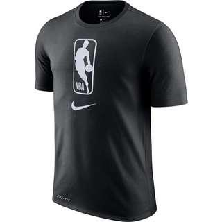 Nike NBA T-Shirt Herren black-white
