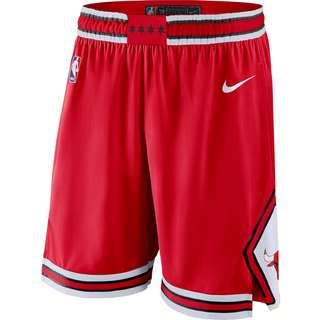 Nike Chicago Bulls Basketball-Shorts Herren university red-white