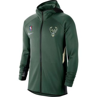Nike Milwaukee Bucks Trainingsjacke Herren fir-black-flat opal