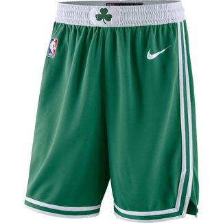 Nike Boston Celtics Basketball-Shorts Herren clover-white