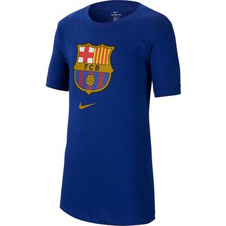 Nike FC Barcelona T-Shirt Kinder deep royal blue