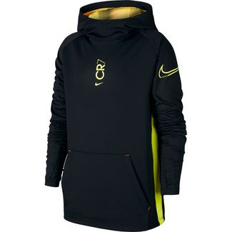 Nike CR7 Funktionsshirt Kinder black-hyper turq-lemon venom
