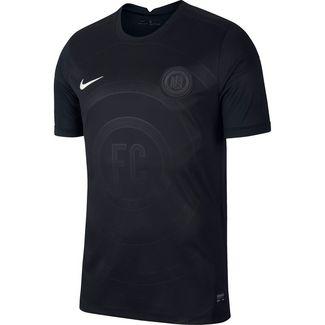 Nike FC Fußballtrikot Herren black-white