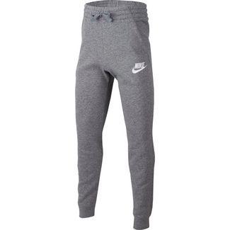 Nike Trainingshose Kinder carbon heather-cool grey-white