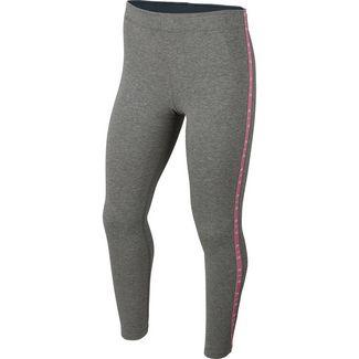 Nike Air Leggings Kinder carbon heather-magic flamingo