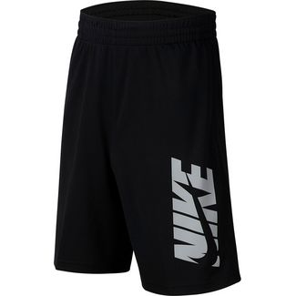 Nike Shorts Kinder black-lt smoke grey