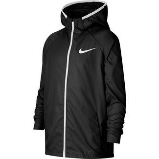 Nike Woven Trainingsjacke Kinder black-white-white