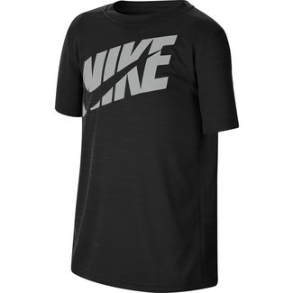 Nike Funktionsshirt Kinder black-lt smoke grey