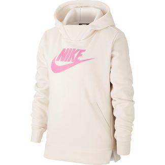 Nike Hoodie Kinder lt orewood brn-fire pink