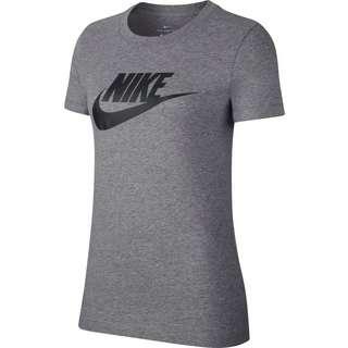 Nike NSW Icon Futura T-Shirt Damen dark grey heather-black