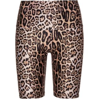 Onzie High Rise Radlerhose Tights Damen leopard