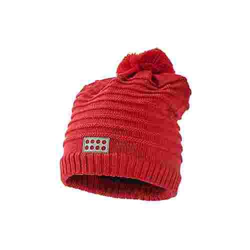 Lego Wear Bommelmütze Kinder Red