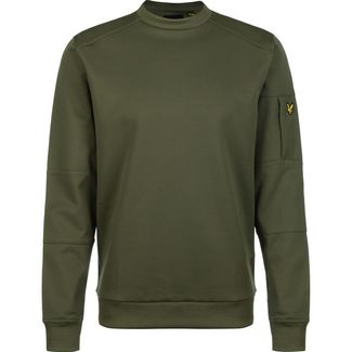 Lyle & Scott Pocket Sweatshirt Herren oliv