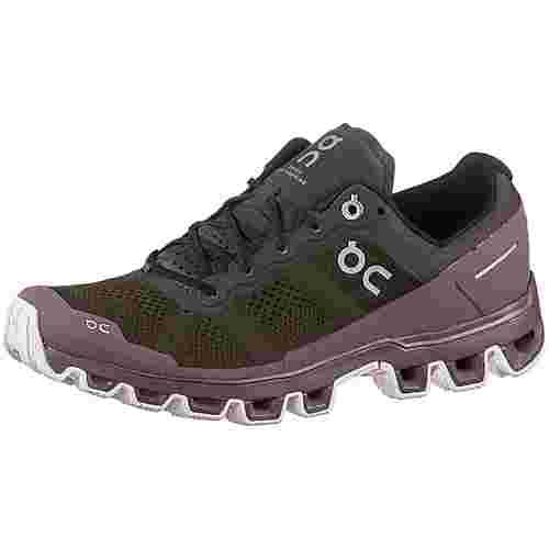 ON Cloudventure Trailrunning Schuhe Damen shadow-grape