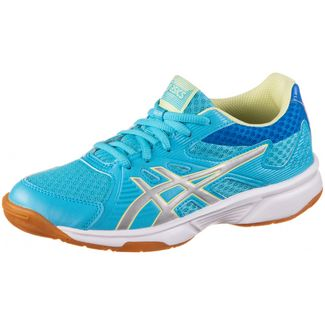 ASICS UPCOURT 3 GS Hallenschuhe Kinder aquarium-pure silver