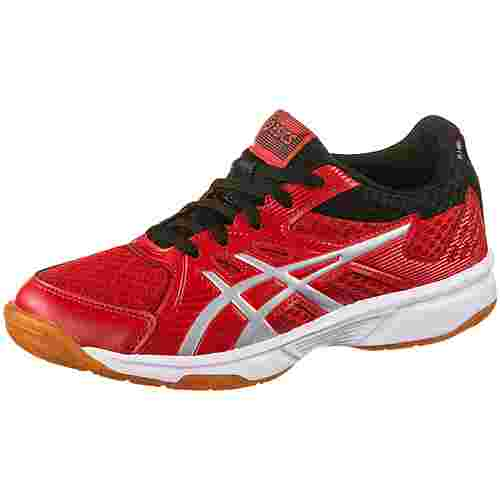ASICS UPCOURT 3 GS Hallenschuhe Kinder classic red-pure silver