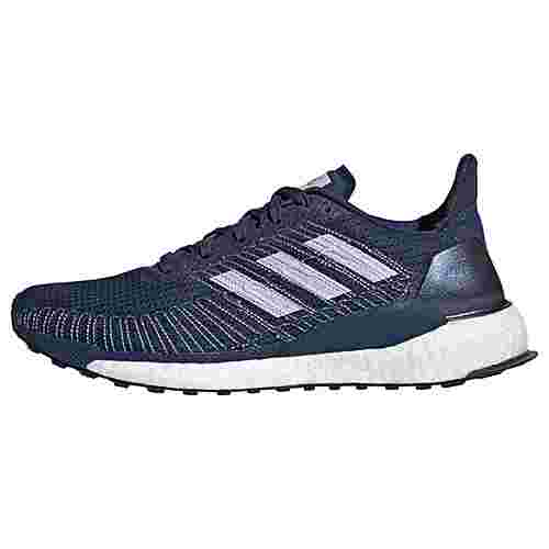 adidas Solarboost 19 Schuh Laufschuhe Damen Tech Indigo / Purple Tint / Solar Red