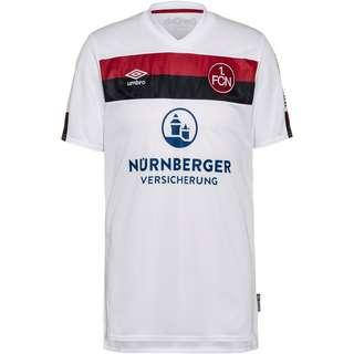 UMBRO FC Nürnberg 19/20 Auswärts Trikot Herren brilliant white-biking red-black
