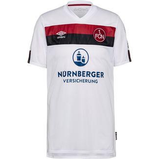 UMBRO FC Nürnberg 19/20 Auswärts Fußballtrikot Herren brilliant white / biking red / black