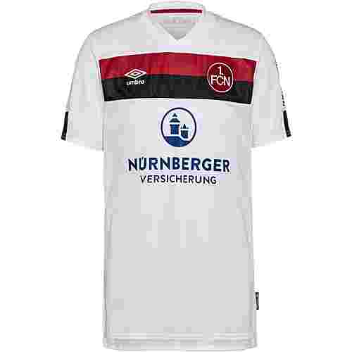 UMBRO FC Nürnberg 19/20 Auswärts Trikot Herren brilliant white / biking red / black