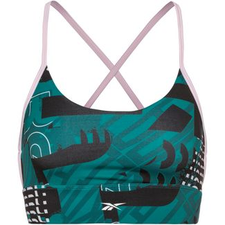 Reebok Workout Ready Sport-BH Damen heritage teal