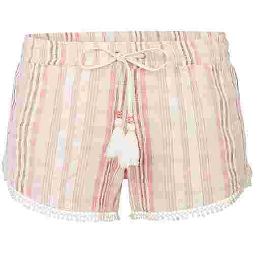 O'NEILL Shorts Damen red aop w-white