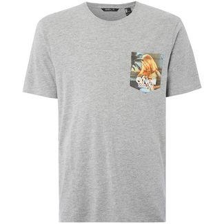 O'NEILL T-Shirt Herren silver melee