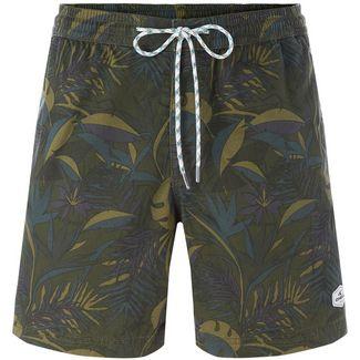 O'NEILL Shorts Herren green aop