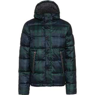 Superdry NEW ACADEMY Steppjacke Herren navy check