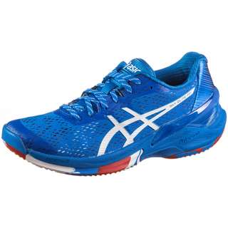 ASICS SKY ELITE FF Hallenschuhe Damen electric blue-white